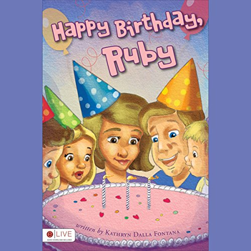 Happy Birthday, Ruby audiobook cover art