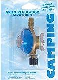 Kit regulador para botella BUTSIR Azul