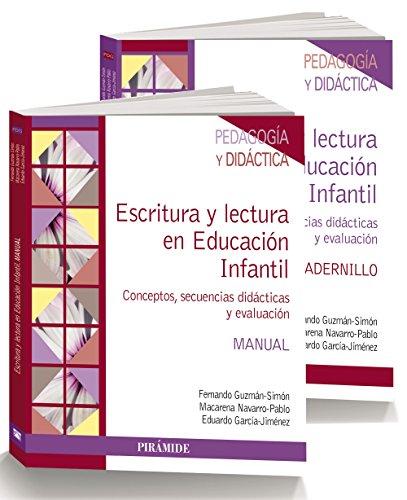 Pack-Escritura y lectura en Educación Infantil: Conceptos, secuencias didácticas y evaluación (Psicología)