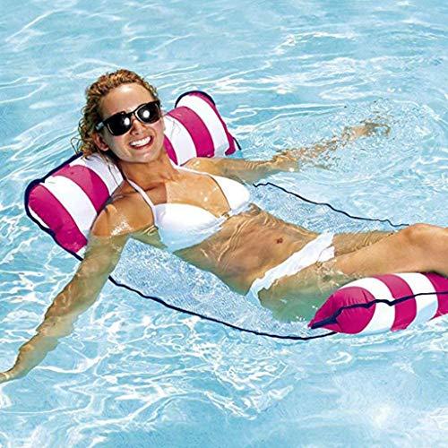 Premium Zwembad Float Hangmat Multifunctionele Water Drijvende Hangmat Ligstoel Opblaasbaar Vlot Zwembad Float