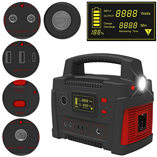 reVolt Powerbank 230V: Powerbank & Solar-Konverter, 114 Ah, 420 Wh, 230 V, 12 V, USB, 600 W (Solargenerator und Powerbank)