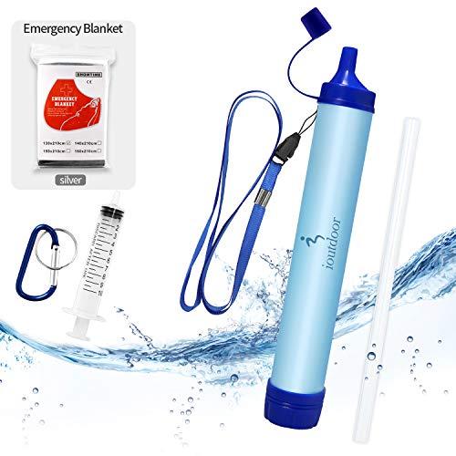 ioutdoor Paille Filtre Eau Personnel sans BPA avec...