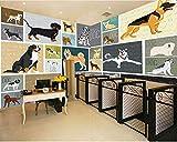 afashiony carta da parati fotografica per soggiorno carta da parati carta da parati premium stampa hd poster arte della parete decorazione moderna della parete negozio di animali astratto-200cmx140cm