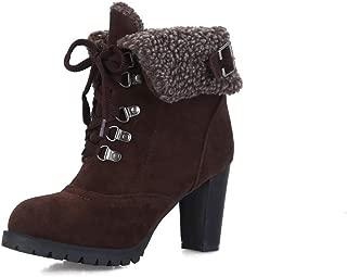 BalaMasa Womens ABS13853 Pu Boots