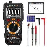 Tacklife DM01M Digital Multimeter TRMS 6000 Counts Manual Ranging, Volt Amp Ohm Multi Meter, Continuity...