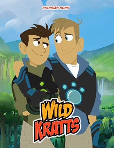 Wild Kratts Coloring Book: 50+ GIANT Great Pages with Premium Quality Images. This is a fun, creative coloring book for fans of all ages.