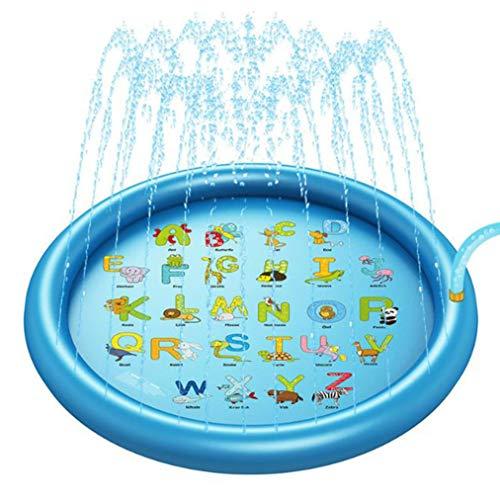 Qinmao Aufblasbarer Pool Sprinkler Für Kiddie Pool Zoll über Dem Boden Aufgeblasener Pool Sommer Outdoor Wasserspielzeug