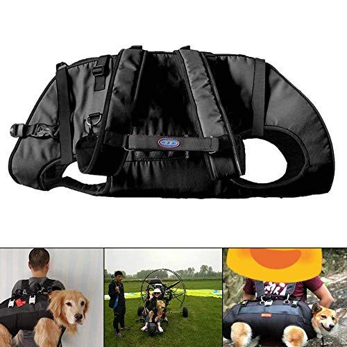 EnweNge Hundegeschirr Hunde Tragehilfe Gehhilfe, Hunde Hundegurt Verstellbar Hinterbeine für Rehabilitation der Vorder und Hinterbeine des Hundes,XS