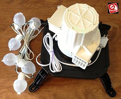 Gemmy Airblown Inflatable Replacement Fan/blower Motor Model TH-bL3-N with 6 Lights
