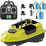 HHORB Barco De Cebo De Pesca, Barco De Cebo De Crucero con GPS De Distancia De Barco RC con Batería De 5200 Mah, Barco De Cebo De Pesca con Control Remoto con Motor Doble (Color : 3x5200mAhBattery)