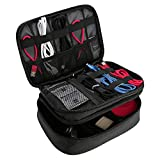 ProCase Electronics Travel Organizer Storage Bag, Double
