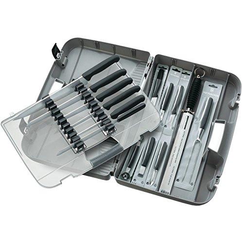 Victorinox Zubehör Messerkoffer Kunststoff leer, Weiß, 30 x 5 x 5 cm