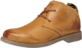 Ommda Męskie buty skórzane vintage pustynne czukka