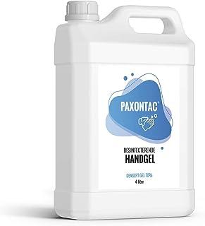 Paxontac Desinfecterende Handgel 4 liter navulling - Droogt snel en plakt niet - Grootverpakking