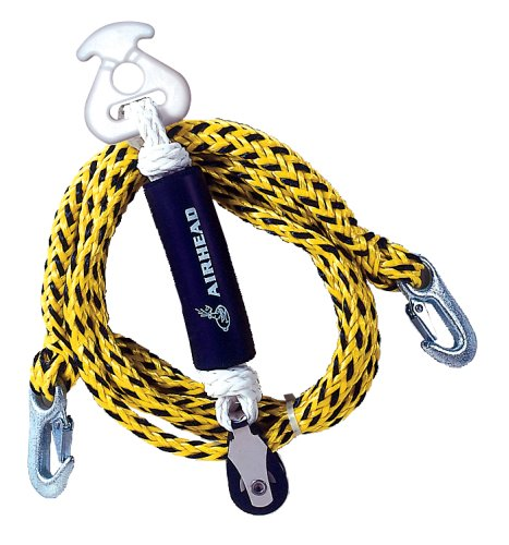 AIRHEAD Tow Harness, Self Centering Pulley, 12 ft.