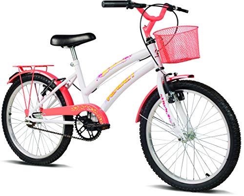 Bicicleta Juvenil Verden Breeze Aro 20 com cestinha e bagageiro