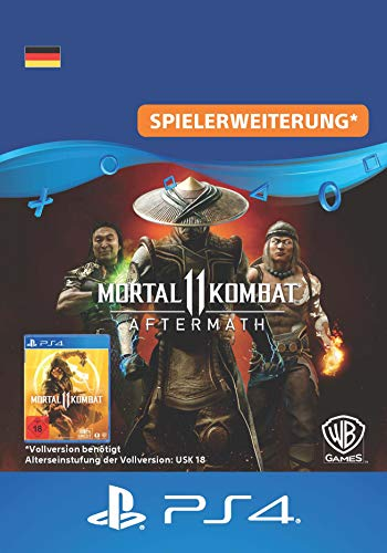 Mortal Kombat 11: Aftermath | PS4 Download Code - deutsches Konto