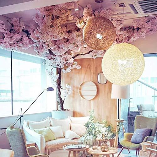 YANGE'S Árbol de Flor de Cerezo de Color Mezclado Rama de Flor de Cerezo Artificial Vides Falsas para la Fiesta de Bodas/Pared de la Casa/Decoración Interior y Exterior