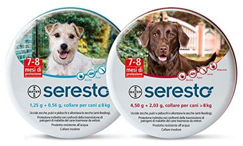 Bayer Seresto Collier antiparasitaire pour chien de plus de 8kg