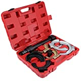 EBTOOLS Shock Absorbers,Spring Compressor Shock Absorber Spring Compressor Kit Removal Installer Strut Coil Clamp Tool Set Spring Compressor Tool Set with Storage Case