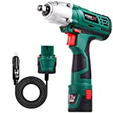 Best Impact Wrenches - POSENPRO Cordless Electric Impact Wrench Kit,Double Power Review