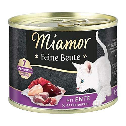 Miamor Dose Feine Beute Ente 185 g (Menge: 12 Je Bestelleinheit)
