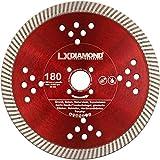 LXDIAMOND - Disco diamantato da 180 mm, adatto per fresatrice per finestre Lamello Tanga Delta S2, adatto per cemento, granito, muratura, ecc. Fresa di montaggio 180 mm