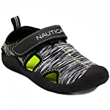 Nautica Kids Kettle Gulf Protective Water Shoe,Closed-Toe Sport Sandal For Boys and Girls-Black Multi-8