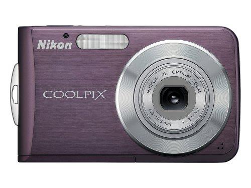 Nikon Coolpix S210 8MP Digital Camera with 3x Optical Zoom (Plum)