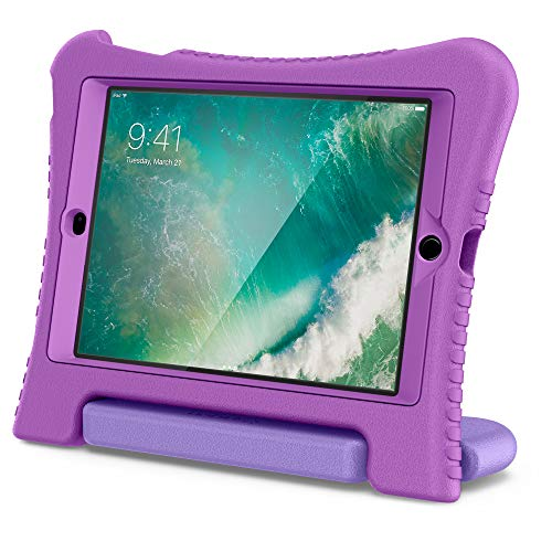 Spigen Play 360 Kid Friendly Protection Case Cover Compatible with iPad 5th Gen. 9.7″ (2018) – Jelly Purple