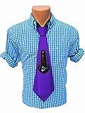 Bev Tie The Original Hands Free Drink Holder - Beer Tie (Purple)