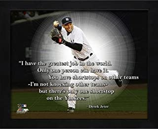 MLB Derek Jeter New York Yankees Pro Quotes Photo (Size: 12