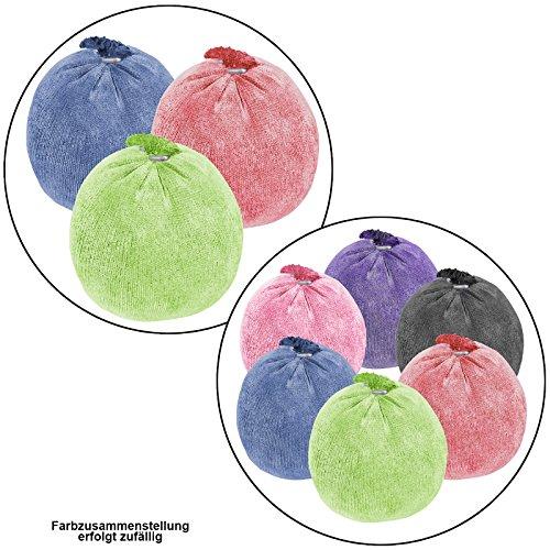 ALPIDEX Bola de Magnesia 35 g ó 60 g Escalada Gimnasia Halterofilia cantidades, Cantidad:6 x 35 g, Color:Mixed Colours
