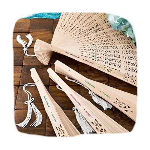 Fashioncraft Personalized Labels with Sanalwood Fans, 72
