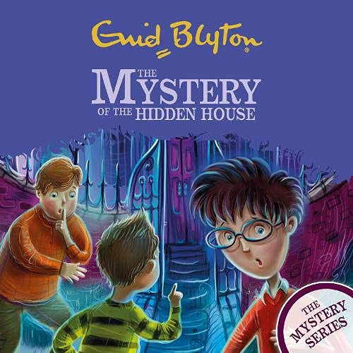 The Mystery of the Hidden House cover art
