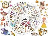 Pegatinas De Scrapbooking 36 Piezas, Pegatinas De Diario,Pegatinas De Planificador, Pegatinas Vintage Para álbumes De Recortes De Bricolaje, Tarjeta,Taza, Equipaje, Decoración De Muebles De Puerta