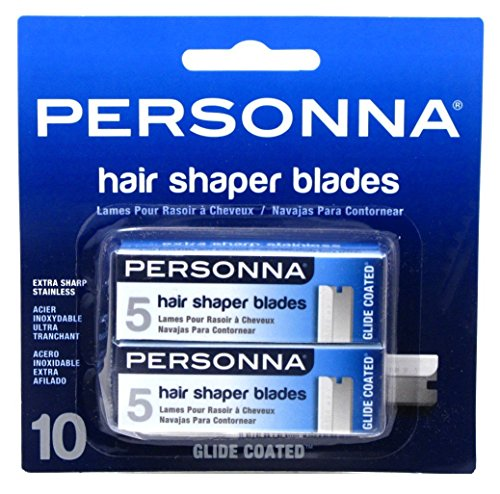Personna Hair Shaper Blades, 10 Ea, 10count