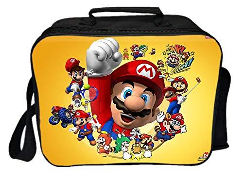 Mario Tasche Neue Super Mario Picknick Lunch Bag Studenten Männer Frauen Jungen Mädchen Mode Einkaufstasche Cooler Bag Student Worker Schöne Isolierbox