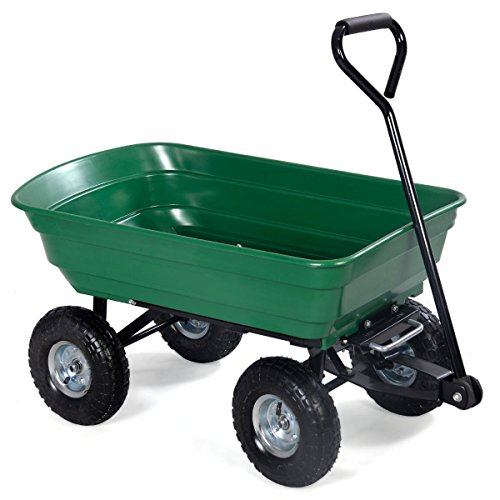 Garden Dump Cart Wagon Carrier...