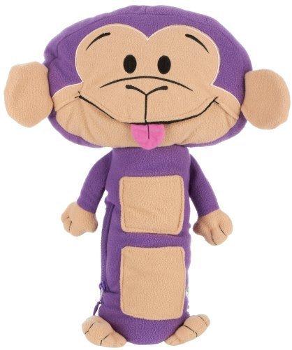 Seat Pets Purple/Tan Monkey Car Seat Toy by Seat Pets TOY (English Manual)