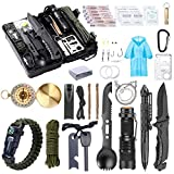 WEREWOLVES Survival Kit 40 in 1 Professional Survival Gear and Equipment for Men, Christmas Birthday Gifts Ideas for Father Husband Boyfriend Teen Boy CampingTravel Hike Field Stocking Stuffers