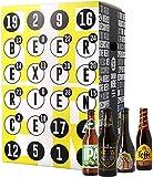 Calendrier de l'avent - 24 bouteilles - Idée cadeau - Bières du monde - Noël