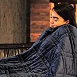 Ultra Plush Weighted Blanket -   *Great for Winter*   Minky Warm Luxury