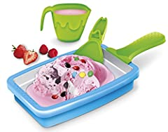 The innovative Magic Kidchen products bring fun and creativity to the kitchen for children, teenagers and adults. Make your own ice cream with the Cold Creations Creamery Quick and easy. Look at the many recipe ideas, mix your ice mass, pour it into ...