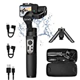 hohem iSteady Pro 3 Gimbal Stabilisateur pour Gopro Hero 8,3-Axis Gopro Gimbal Splash Proof Contrôle WiFi Compatible avec Gopro Hero 8/7/6/5, Insta360 One R, DJI Osmo Sony RXO Caméra d'action