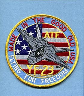 Embroidered Patch-Patches for Women Man- Northrop F-23 YF-23 Black Widow
