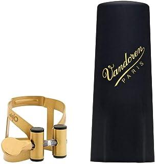 Vandoren LC57AP - Abrazadera para saxofón alto, color dorado