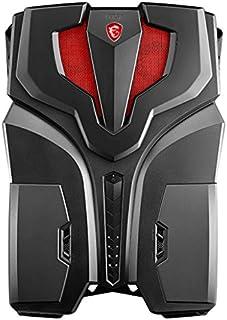 MSI VR One 7RD-080IT 2.8GHz i7-7700HQ Negro, Rojo PC - Ordenador de sobremesa (2,8 GHz, Intel Core i7-7xxx, i7-7700HQ, 3,8 GHz, 6 MB, Smart Cache)