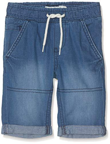 Name IT NOS Baby-Jungen Shorts NMMRYAN DNMABEN 3051 KNICKERS NOOS, Blau (Dark Blue Denim), (Herstellergröße: 80)