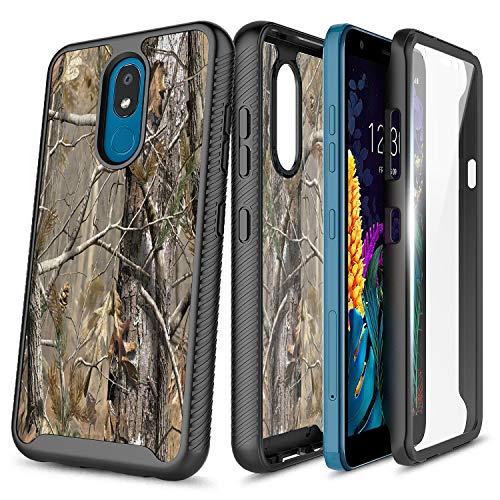 LG Rebel 4 LTE Case, Aristo 3+ Plus/Aristo 3/Aristo 2 Plus/Tribute Dynasty/Empire/Zone 4/Phoenix 4/Fortune 2/Risio 3/Rebel 3/K8+/K8S, NageBee Full-Body Protective with Built-in Screen Protector -Camo